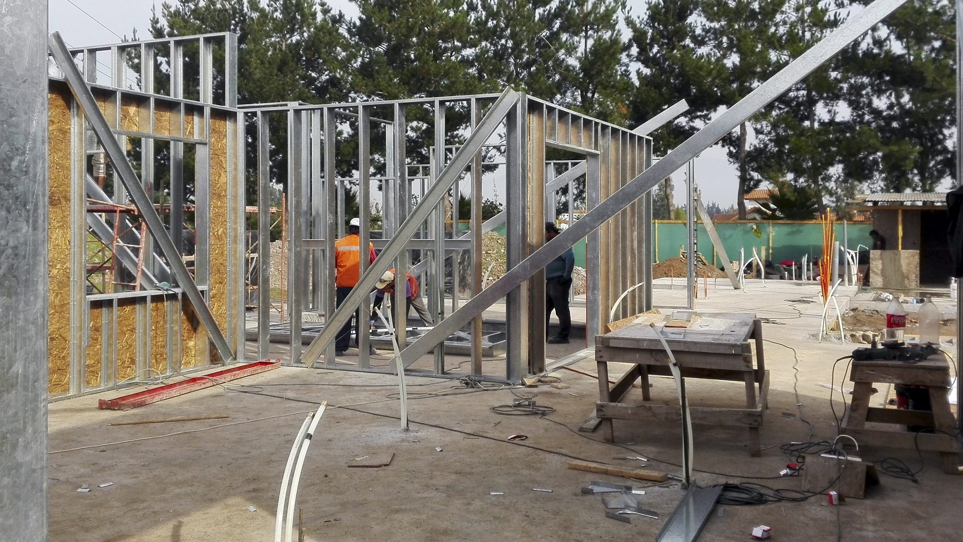 INGEPRESS Y CIA LTDA. – Obras Civiles, Construccion, Construccion con metalcon, Segundos pisos con metalcon, perfiles metalcon